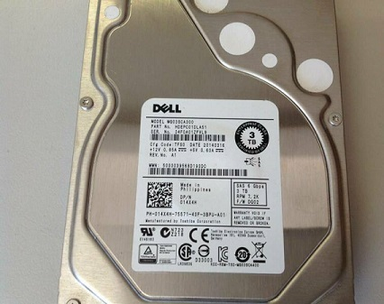 014X4H Dell 3-TB 6G 7.2K 3.5 SAS with 0F238F caddy