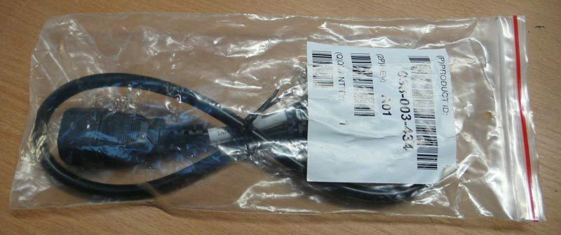 038-003-434 EMC 10a Black 24in Power Cord