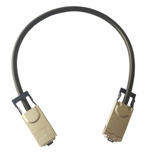 10G CX4(SFF-8470) to CX4(SFF-8470) Cable(Latch to Latch)