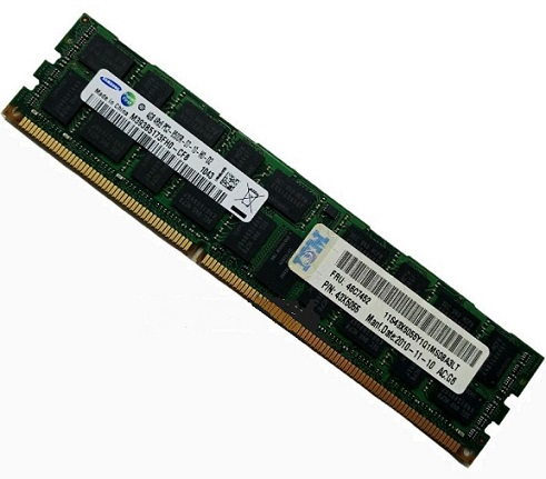43X5055 IBM 4GB DDR3 Registered ECC PC3-8500 1066Mhz