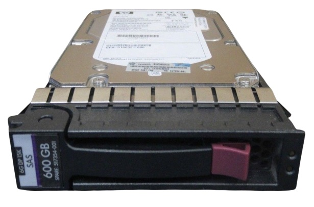 HP 600-GB 6G 15K 3.5 DP SAS HDD