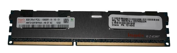 7014640 Sun Oracle 8gb Ddr3 Pc3l-10600r Memory DIMM