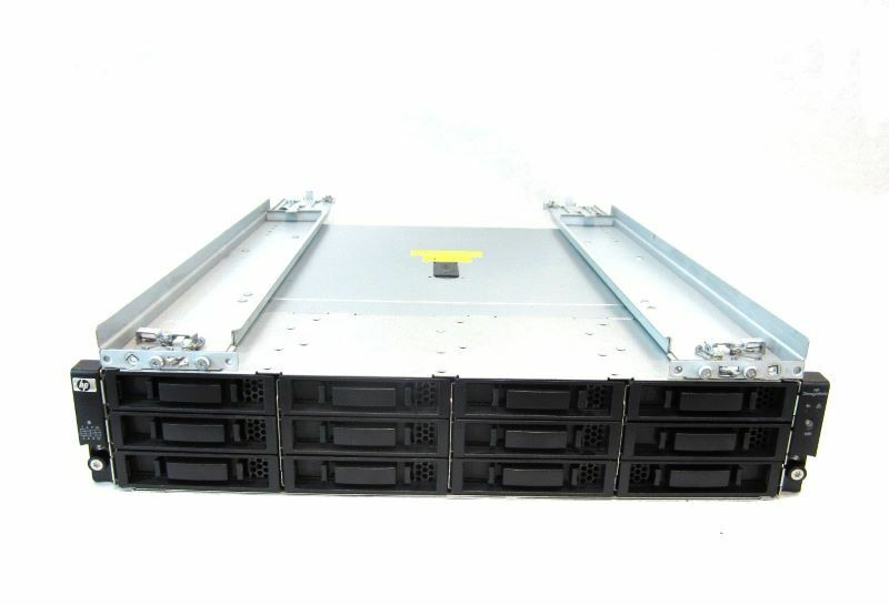 AJ832A HP StorageWorks M6612 12-Bay 3.5 SAS DAE with Rails