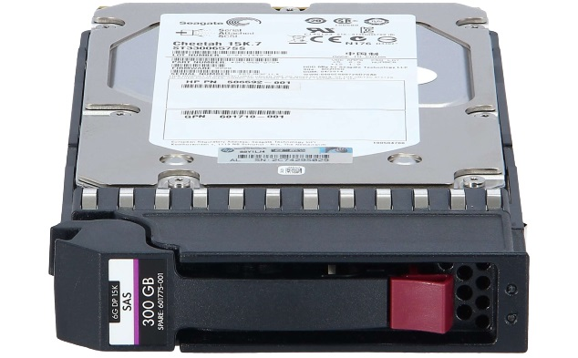 AP858A HP MSA2 300GB 15K 3.5Inch Dual Port SAS HDD