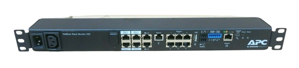 NBRK0250-APC Netbotz 250 Environment Monitoring Appliance