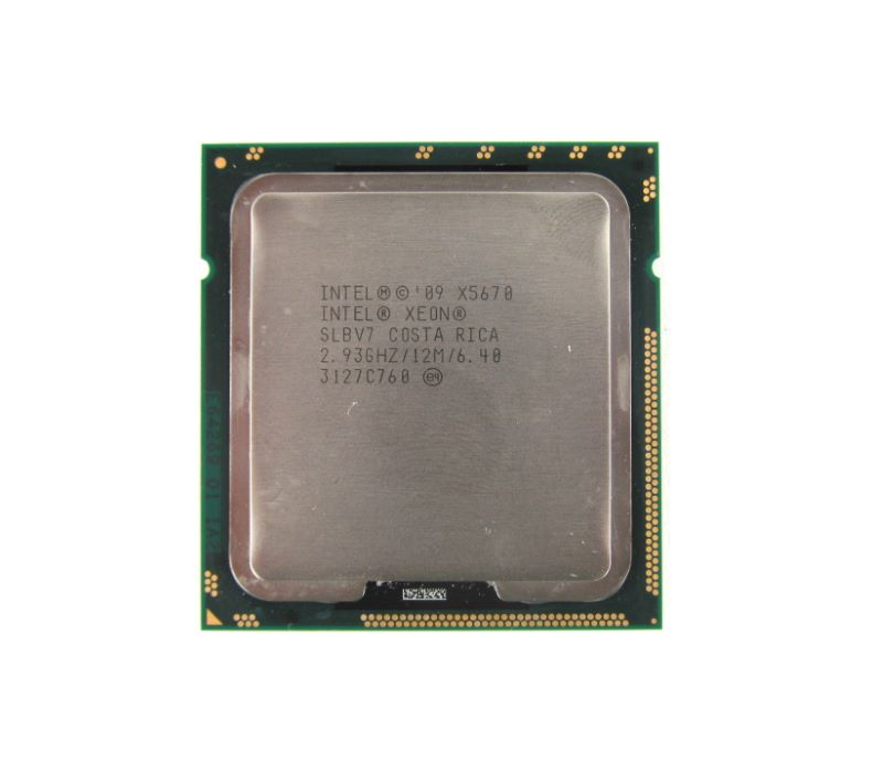 CG0NK Dell Xeon 6C 2.93Ghz 12MB 6.40GTs X5670 Processor