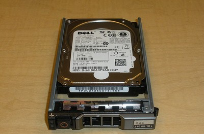 CM318 Dell 146-GB 10K 2.5 SP SAS with Part No G176J caddy