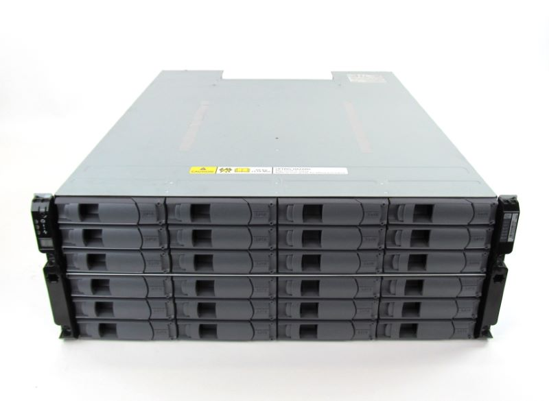 DS4243 NetApp Expansion Shelf with 24x 1TB 7.2K SATA HDDs