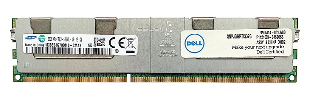 Dell 32GB (1x32GB) PC3-14900L 4Rx4 Server Memory