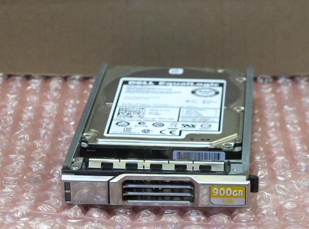"""Dell EqualLogic FR83F 900GB 10k 2.5/"""" SAS Hard Drive w// PS4100 PS6100 PS6210 Tray"""