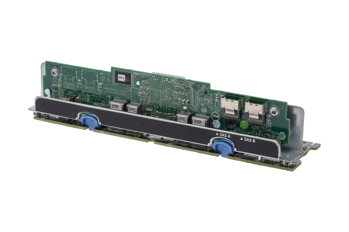 Dell PowerEdge R720 1x16 2.5in Backplane & Controller 8X25D