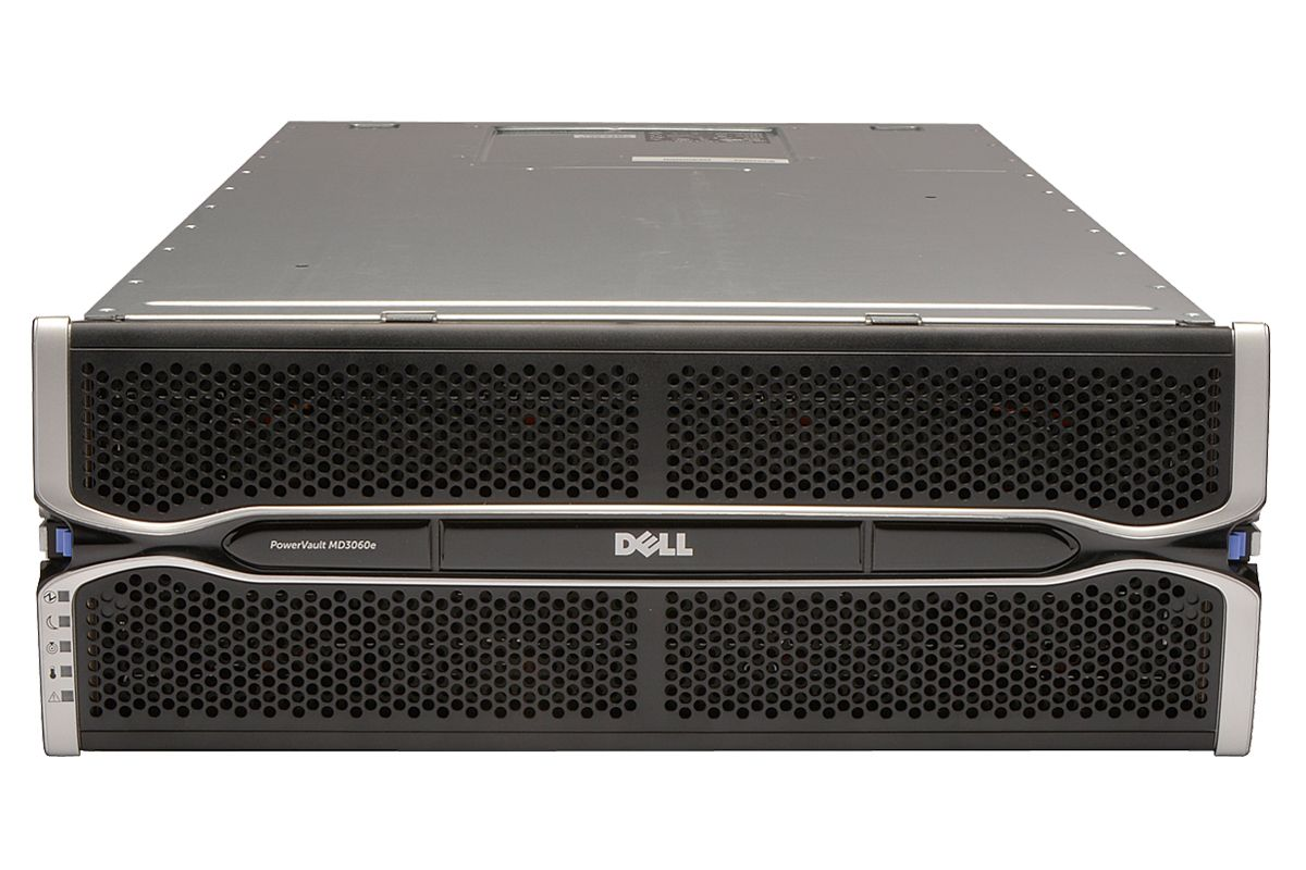 Dell PowerVault MD3060e Direct Attached Storage Array