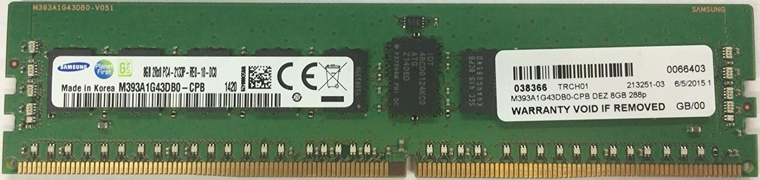A7910487 Dell 8GB 2133MHz PC4-17000 Memory