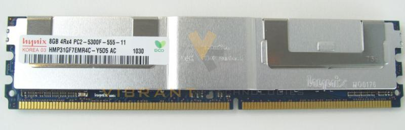 M788D Dell 8GB 667MHz PC2-5300F Memory
