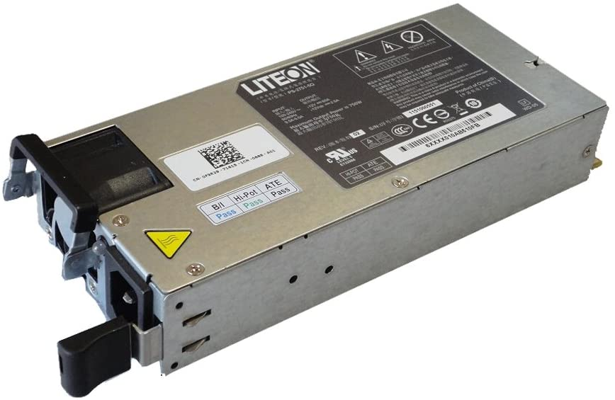 F3R29 Dell 750W Power Supply For PowerEdge C2100 Server