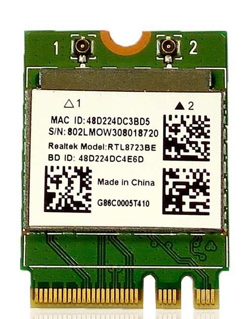 G86C0005T410 Toshiba Realtek RTL8723BE Bluetooth NGFF Mini Card