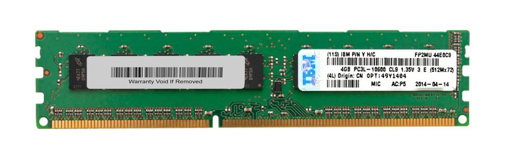 49Y1404 IBM 4GB PC3-10600 ECC SDRAM DIMM