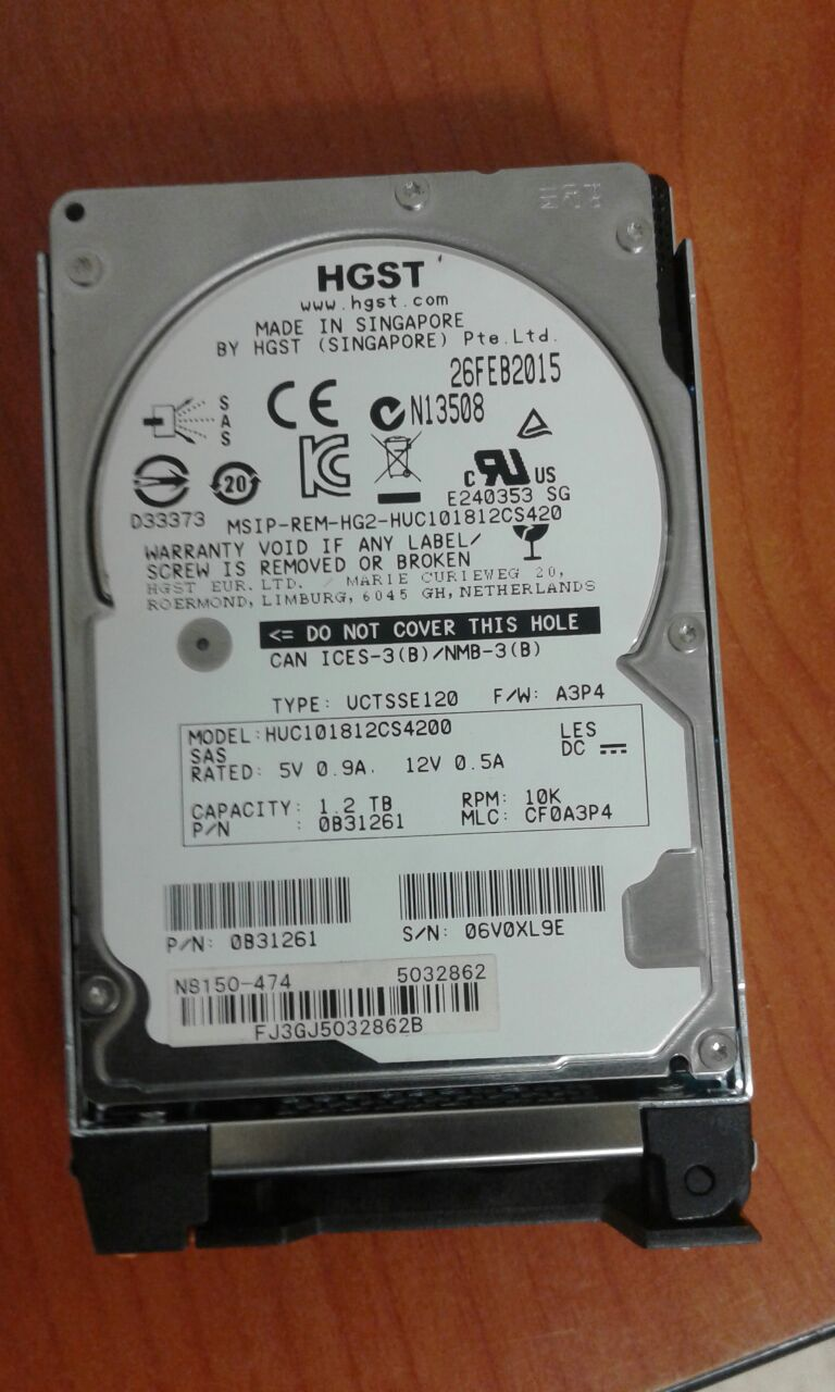 1.2 TB HDD for NEC expansion N 8150-474