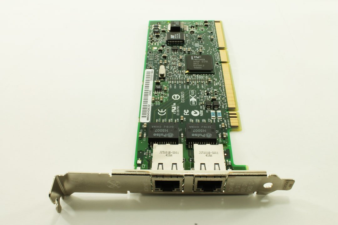 HP Intel NC7170 Dual Gigabit PCI-X Network NIC Card 313586-001