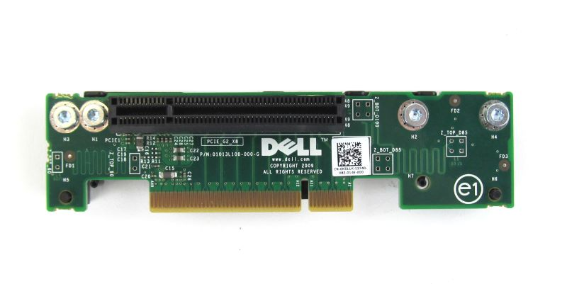 K511K DELL PowerEdge R310 PCI-E Riser Board / Card