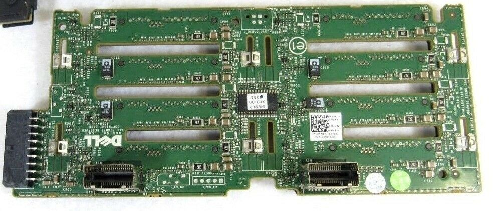 MX827 Dell PowerEdge R710 Backplane Board for 2.5 Inch Drives