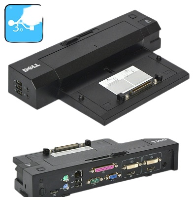 Dell PR02X 12tfy P/N 035RXK E-Port Plus II 5xUSB 2x USB 3.0