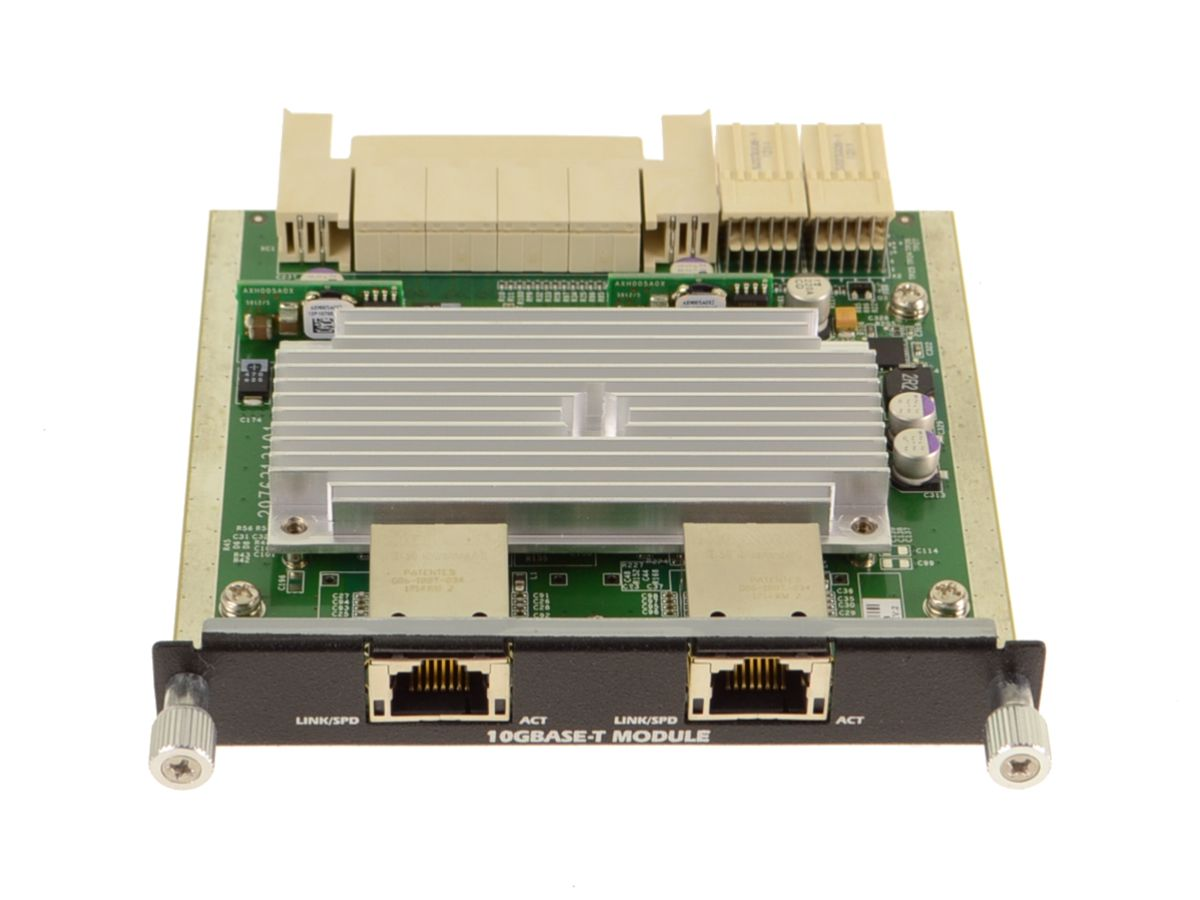 R2DJN Dell Dual-Port 10GBase-T Ethernet Switch for the M1000e