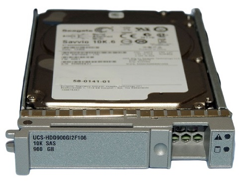UCS-HDD900GI2F106 Cisco 900 GB hot-swap 2.5In SFF SAS-2