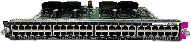 WS-X4248-RJ45V Cisco Catalyst 48-Port Fast Ethernet Line Card