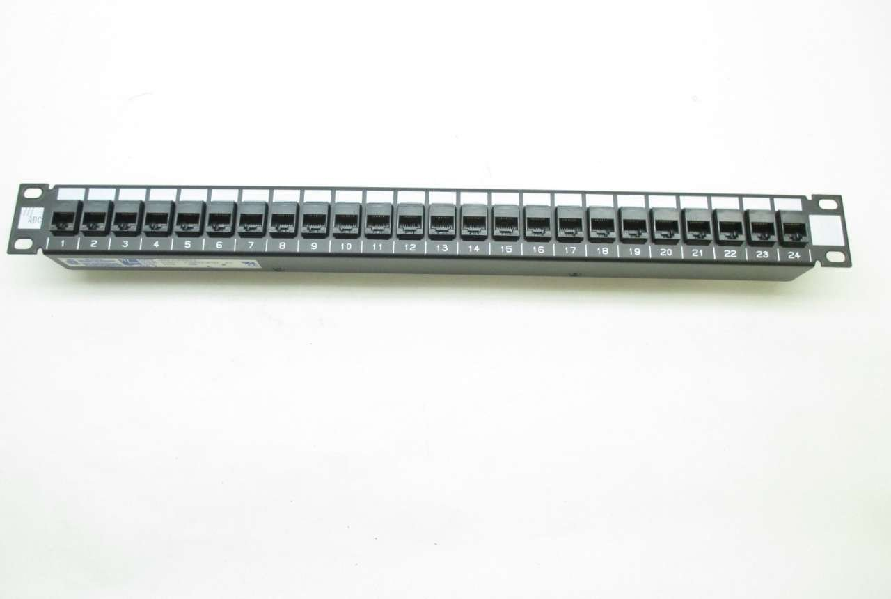 ADC 6653 1 587-24 TRUENET 24-PORT CAT5E ETHERNET PATCH PANEL