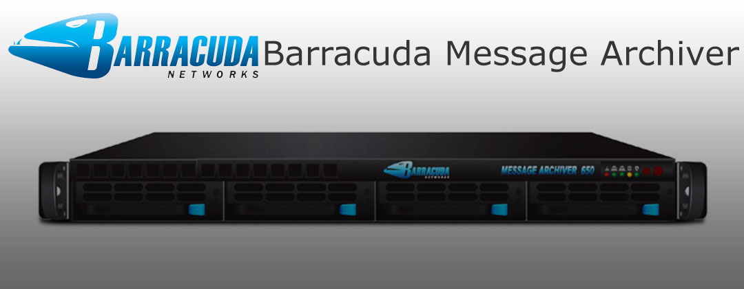 CSE-813M Barracuda Message Archiver 650 MAIL archiving appliance