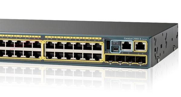 Cisco Catalyst 2960-S Series