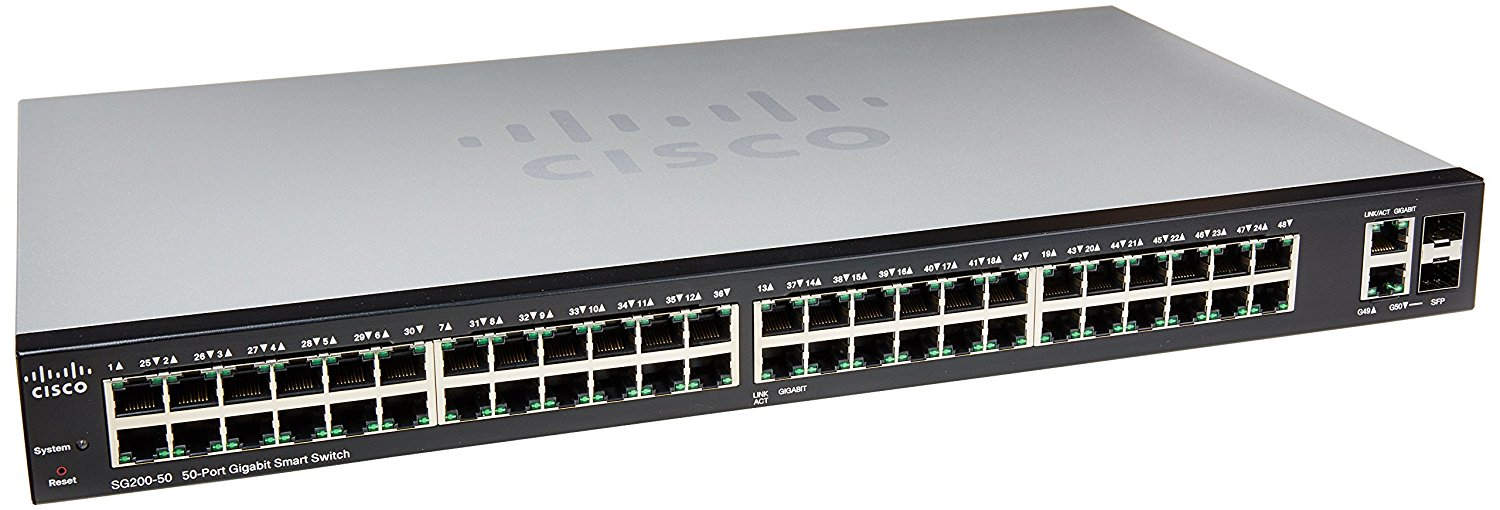 Cisco Small Business 200 Series SLM2048T-NA Smart SG200-50 Gb