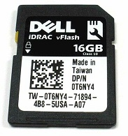 Dell vFlash Cards