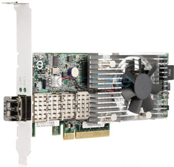 HP NC510F PCIe 10 Gigabit Server Adapter