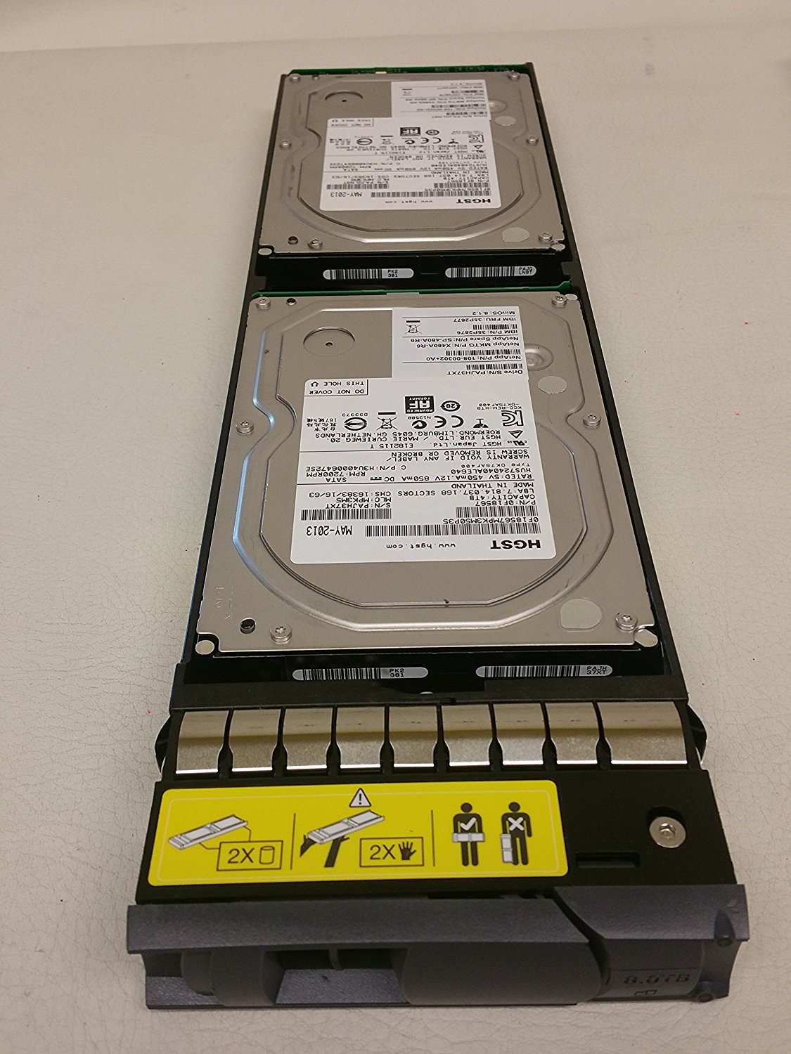 NetApp X480A-R6 8TB 7.2K RPM SATA Hard Drive for DS4486 Disk
