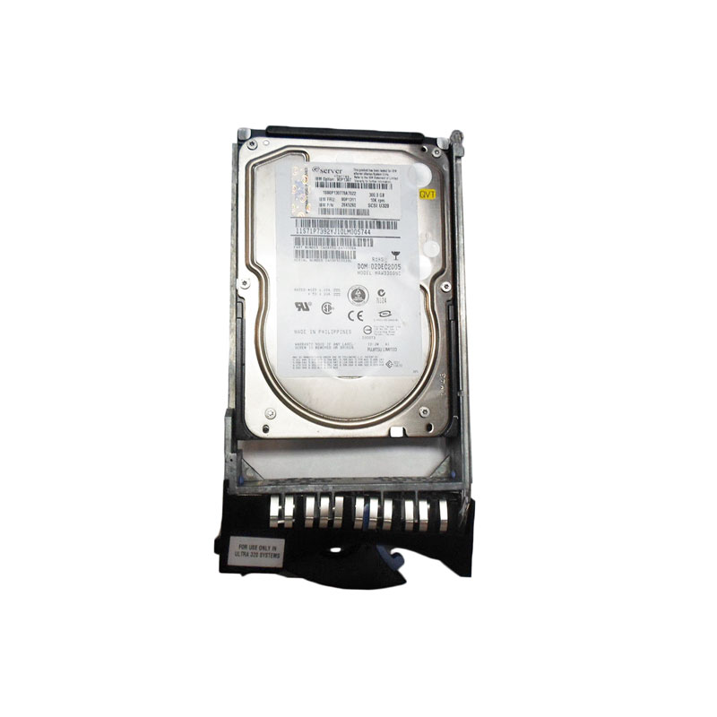 IBM 26K5260 90P1311 300GB 10K SCSI Hot-Swappable SSL Hard Drive